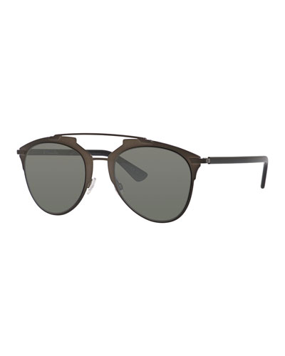 Mirrored Metal Sunglasses