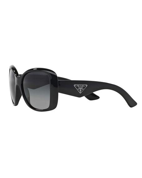 Heritage Logo Square Sunglasses