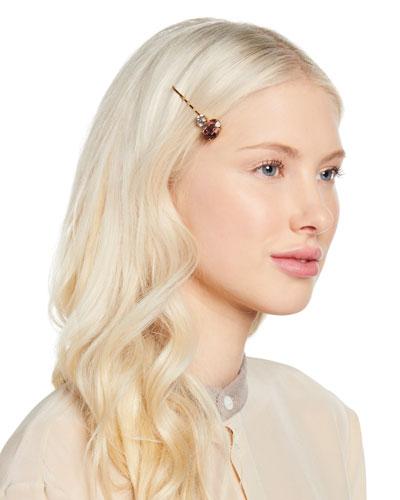 Gemma Swarovski Crystal Bobby Pin