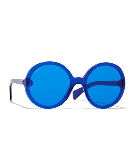 30edf7c797fa Chanel. Round Sunglasses