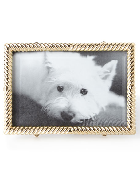 4X6 GOLD DECO TWIST FRAME