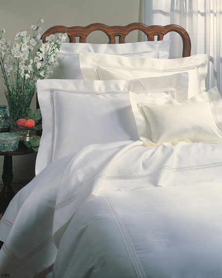Image 1 of 1: Full/Queen Macrame Lace Duvet Cover