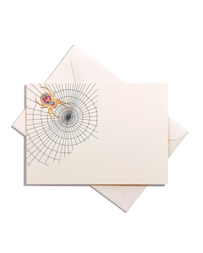 Spider Web Card with Envelope