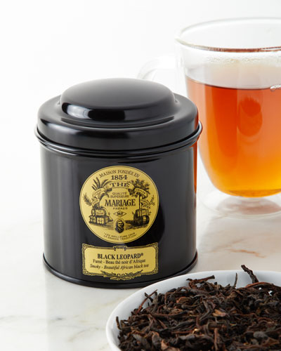 Black Leopard Tea Noir