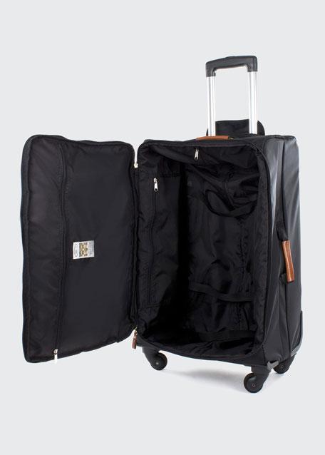 "Black X-Bag 25"" Spinner Luggage"
