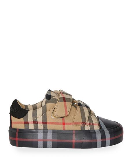 Kid's Mini Markham Check Sneakers, Baby/Toddler