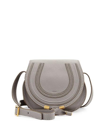 Marcie Small Satchel Bag, Gray