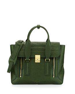 Pashli Medium Zip Satchel Bag