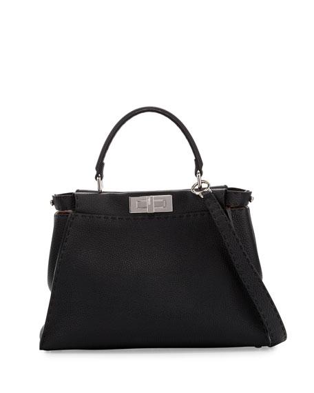 Fendi Selleria Peekaboo Medium Leather Satchel Bag 27e0e05e1f