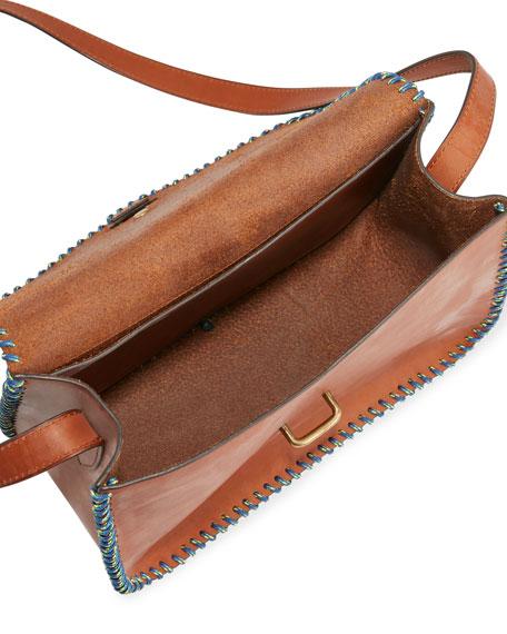Rohan Medium Whipstitched Crossbody Bag
