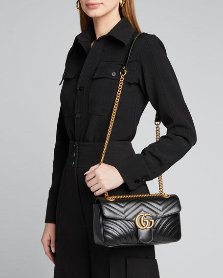 GG Marmont Small Matelasse Shoulder Bag