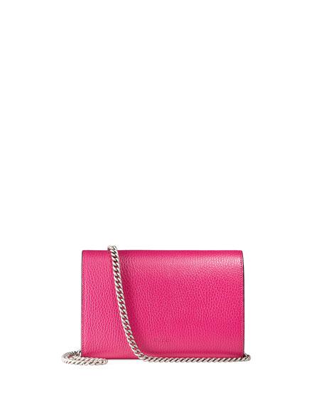5576938843f735 Gucci Dionysus Leather Mini Chain Bag