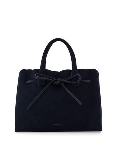 Mini Suede Sun Tote Bag