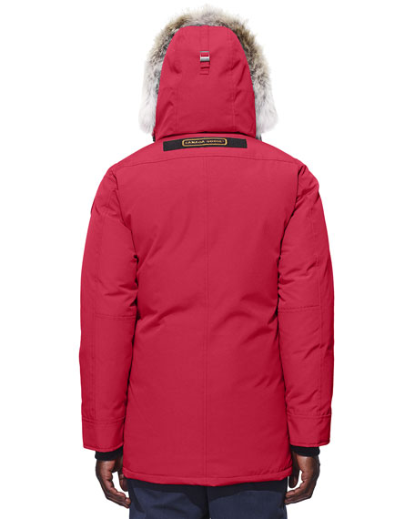 canada goose chateau parka red