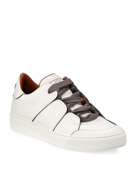 Tiziano Men's Leather Low-Top Sneakers