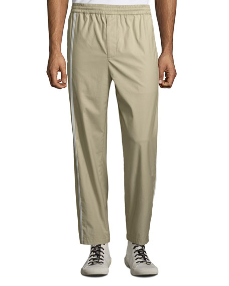 Image 1 of 1: Men's Sport Striped Cotton Pants