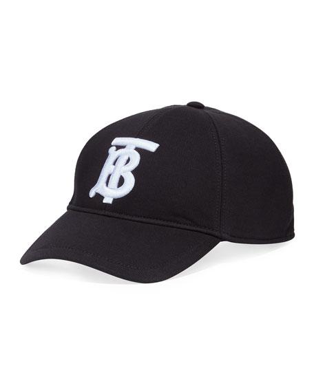 Men's TB Jersey Baseball Cap, Black