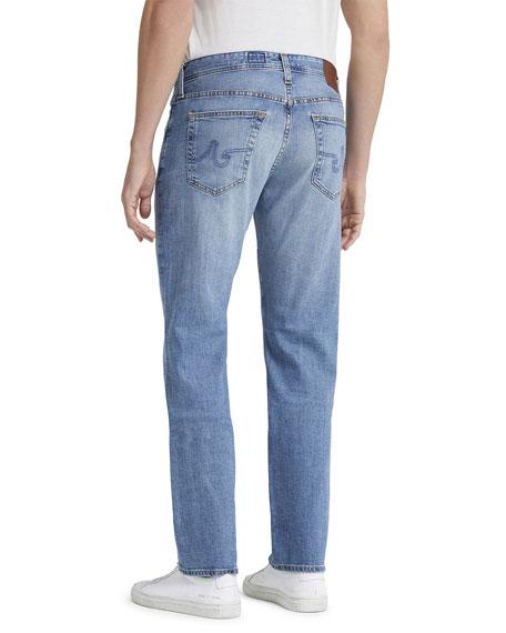 Men's Protege Straight-Leg Light-Wash Jeans
