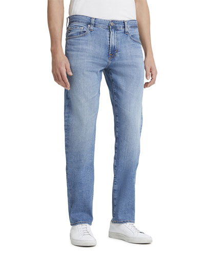 Men's Protege Straight-Leg Light-Wash Jeans
