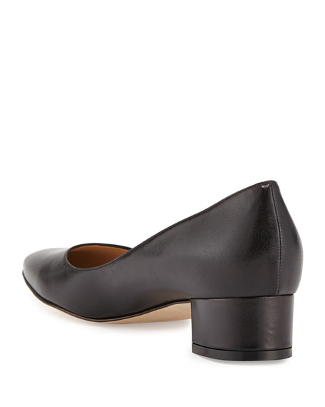 Listony Leather Low-Heel Pump