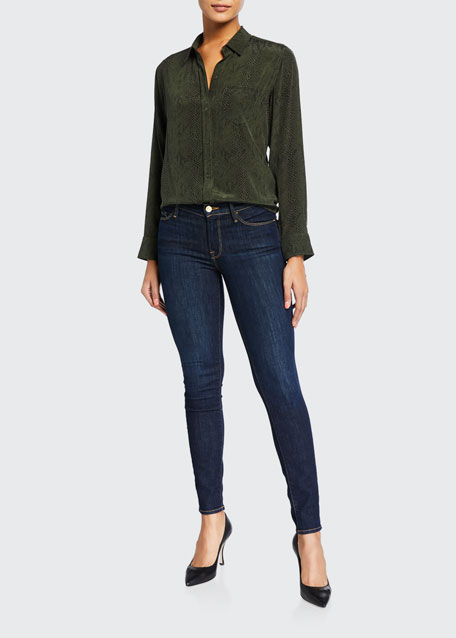 Le Skinny de Jeanne Ankle Jeans, Huntley
