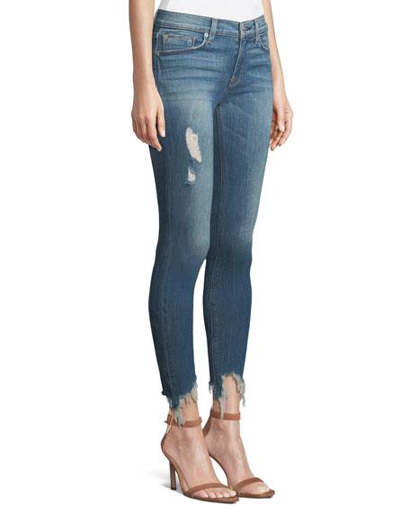 Nico Mid-Rise Super Skinny Crop Jean