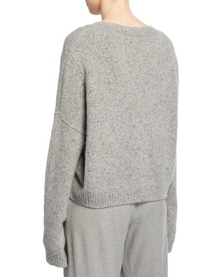 Cashmere Double-Seam Sweater