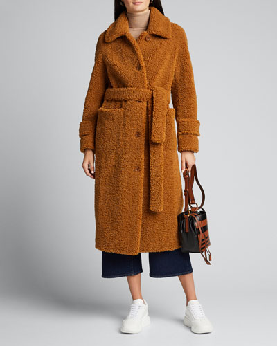 Lottie Faux-Shearling Coat