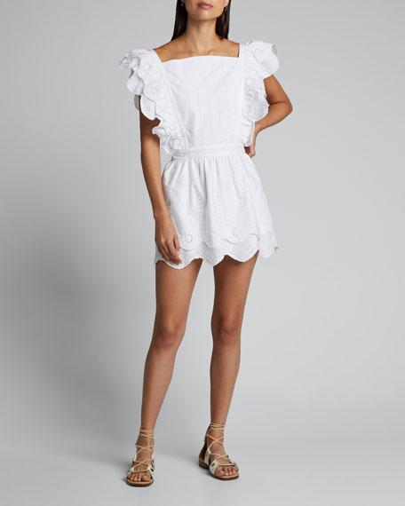 Delilah Ruffled Mini Dress
