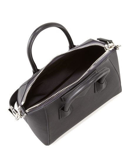 Antigona Small Sugar Goatskin Satchel Bag