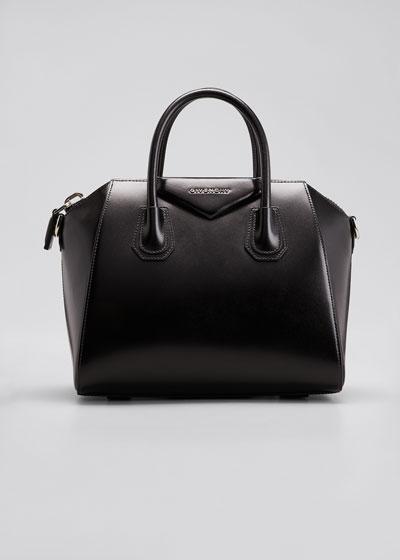 Antigona Small Box Calf Leather Satchel Bag