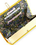 Tender is the Night Book Clutch Bag, Yellow