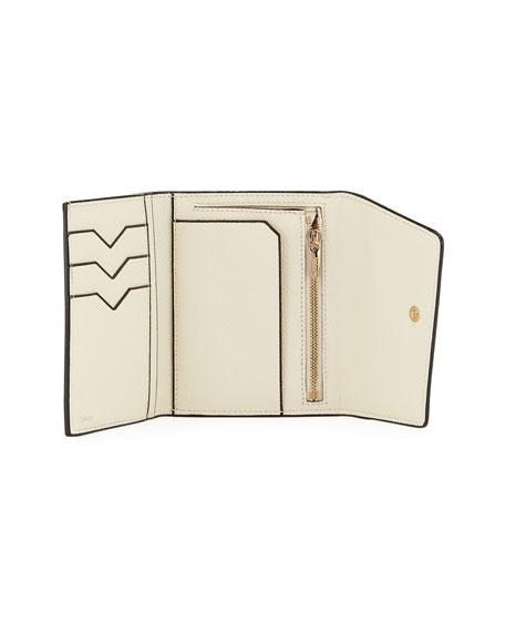 Twist Leather Portfolio Clutch Bag