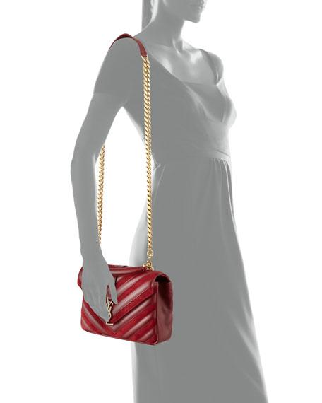 Monogram College Medium Shoulder Bag