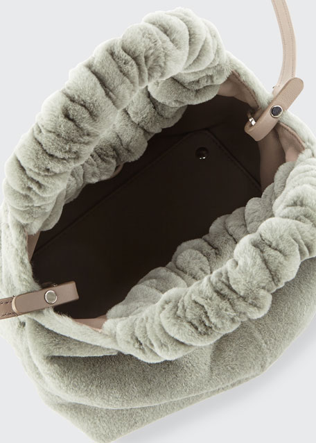 Double Circle Small Handle Bag