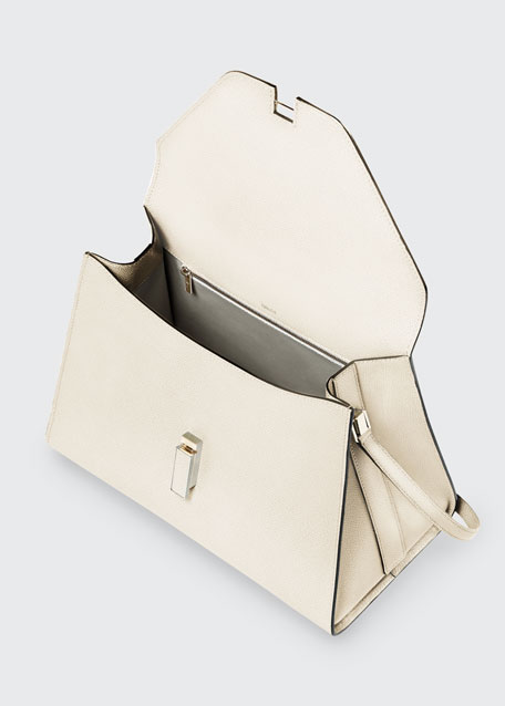Iside Mini Leather Satchel Bag
