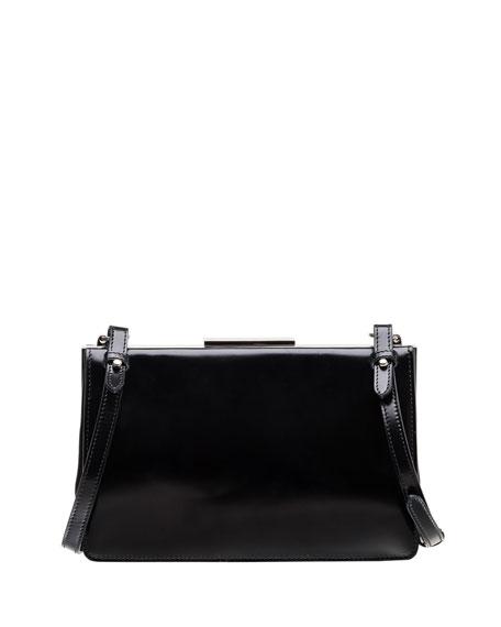 Small Leather Frame Crossbody Bag
