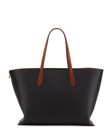 Gv Medium Smooth Leather Shopper Tote Bag by Givenchy