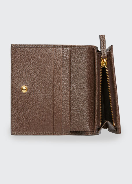 Ophidia GG Supreme Flap Card Case