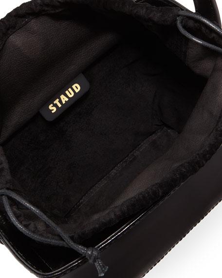 Edie Leather Bucket Bag