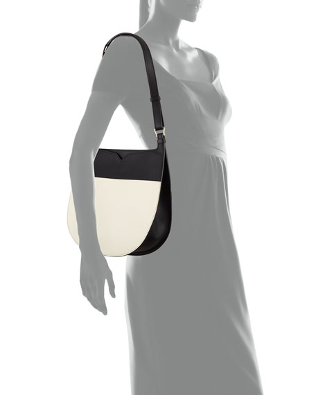 Weekend Small Colorblock Leather Hobo Bag