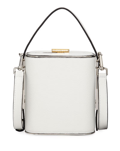 Field Pebbled Leather Top Handle Bag
