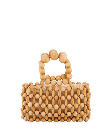 Image 1 of 1: Cora Bamboo Clutch Bag