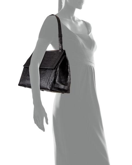 Sophie Crocodile Shoulder Bag