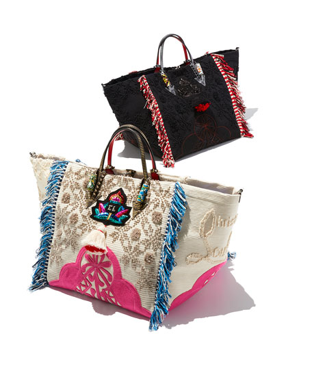 Portugaba Fabric Paris Tote Bag