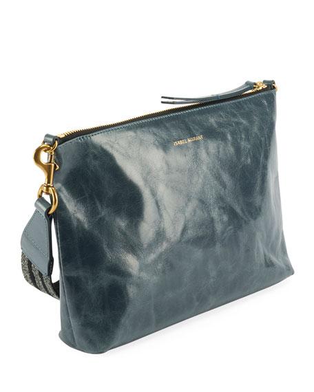 Nessah Distressed Crossbody Bag