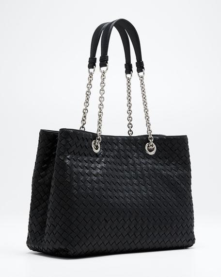 Small Intrecciato Double Tote Bag