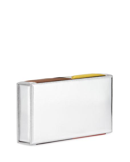 Julia Satin Match Box Clutch Bag