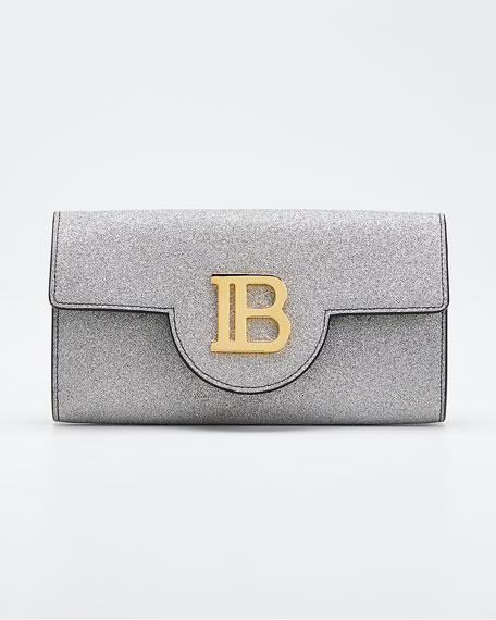 B WALLET ON CHAIN GLITTER LE