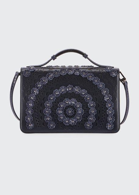 Franca Medium Vienne Fleur Shoulder Bag